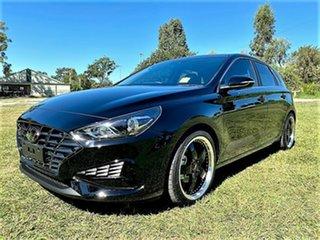 2021 Hyundai i30 PD.V4 MY21 Active Phantom Black 6 Speed Sports Automatic Hatchback.