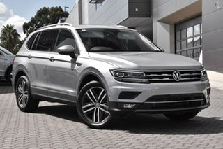 2021 Volkswagen Tiguan 5N MY21 162TSI Highline DSG 4MOTION Allspace Silver 7 Speed.