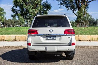 2018 Toyota Landcruiser VDJ200R VX White 6 Speed Sports Automatic Wagon
