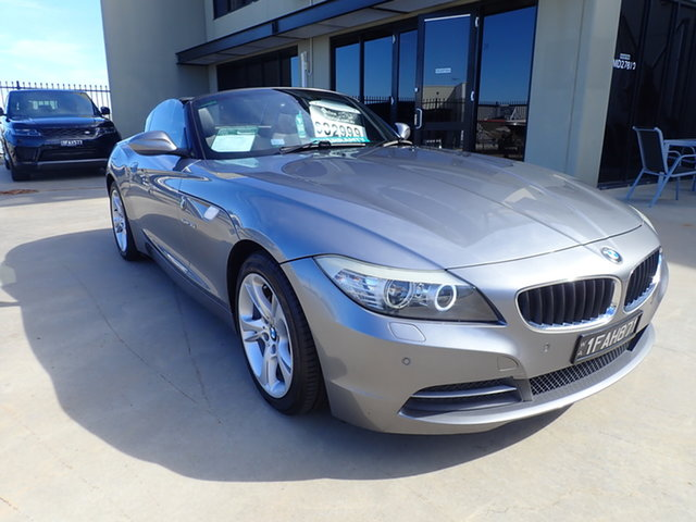 Used BMW Z4 E89 sDrive 30I Wangara, 2009 BMW Z4 E89 sDrive 30I Dolphin Grey 6 Speed Auto Steptronic Roadster
