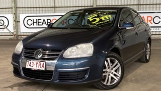 2007 Volkswagen Jetta 1KM MY07 TDI DSG Blue 6 Speed Sports Automatic Dual Clutch Sedan.
