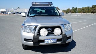 2009 Toyota Landcruiser UZJ200R MY10 GXL Silver 5 Speed Sports Automatic Wagon.