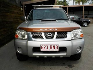 2008 Nissan Navara D22 MY2008 ST-R Silver 5 Speed Manual Utility