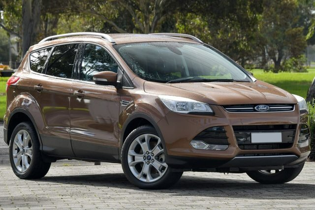 Used Ford Kuga TF Trend PwrShift AWD Dandenong, 2013 Ford Kuga TF Trend PwrShift AWD Brown 6 Speed Sports Automatic Dual Clutch Wagon