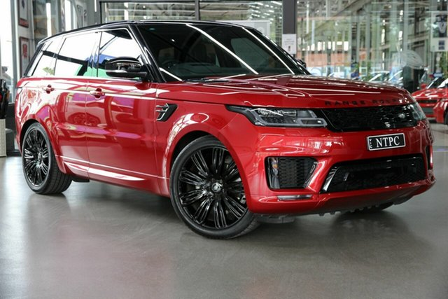 Used Land Rover Range Rover Sport L494 19MY HSE Dynamic North Melbourne, 2018 Land Rover Range Rover Sport L494 19MY HSE Dynamic Red 8 Speed Sports Automatic Wagon
