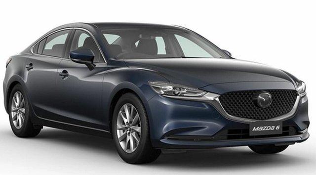 New Mazda 6 Mornington, 2021 Mazda 6 MAZDA6 S 6AUTO SEDAN SPORT Deep Crystal Blue Sedan