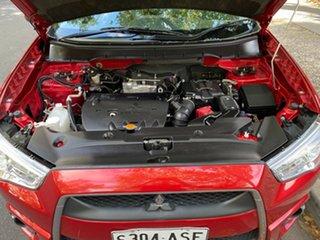 2011 Mitsubishi ASX XA MY11 2WD Red 5 Speed Manual Wagon.