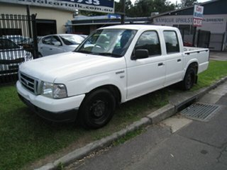 2005 Ford Courier PH GL White 5 Speed Manual Crew Cab Pickup.