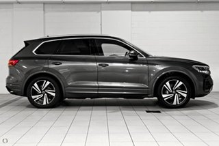 2021 Volkswagen Touareg CR MY21 210TDI Tiptronic 4MOTION R-Line Grey 8 Speed Sports Automatic Wagon