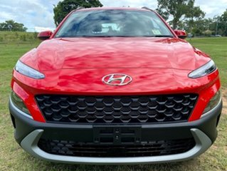 2020 Hyundai Kona Os.v4 MY21 2WD Ignite Flame 8 Speed Constant Variable Wagon.