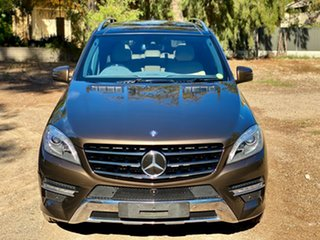 2014 Mercedes-Benz M-Class W166 ML350 BlueTEC 7G-Tronic + Citrine Brown/cashme 7 Speed