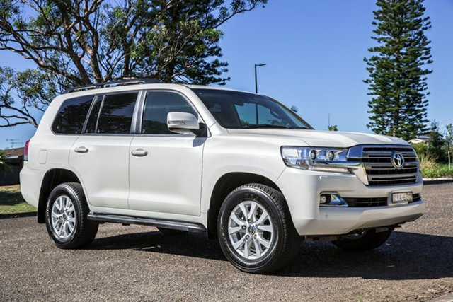 Used Toyota Landcruiser VDJ200R VX Port Macquarie, 2018 Toyota Landcruiser VDJ200R VX White 6 Speed Sports Automatic Wagon