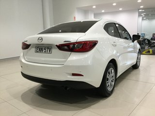 2016 Mazda 2 DL2SAA Neo SKYACTIV-Drive Snowflake White 6 Speed Sports Automatic Sedan.