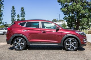 2015 Hyundai Tucson TLE Highlander D-CT AWD Red 7 Speed Sports Automatic Dual Clutch Wagon
