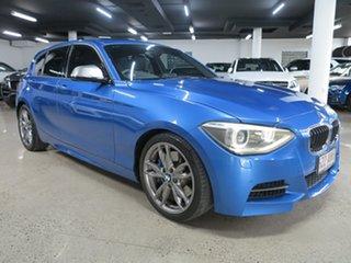 2013 BMW 1 Series F20 MY0713 M135i Estoril Blue 8 Speed Sports Automatic Hatchback.