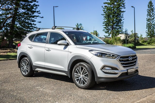 Used Hyundai Tucson TL MY17 Active X 2WD Port Macquarie, 2016 Hyundai Tucson TL MY17 Active X 2WD Platinum Silver 6 Speed Sports Automatic Wagon