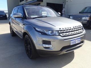 2012 Land Rover Range Rover Evoque SD4 Meteor Grey Metallic 8 Speed Automatic Wagon.