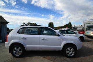 2007 Hyundai Tucson MY07 City Elite White 4 Speed Automatic Wagon.