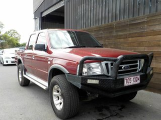 2006 Ford Courier PH (Upgrade) GL Crew Cab 4x2 Red 5 Speed Automatic Utility.