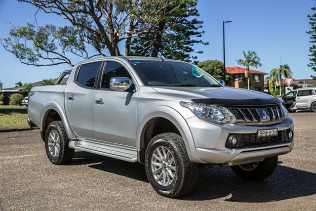 Used Mitsubishi Triton MQ MY18 GLS Double Cab Port Macquarie, 2018 Mitsubishi Triton MQ MY18 GLS Double Cab Silver 6 Speed Manual Utility