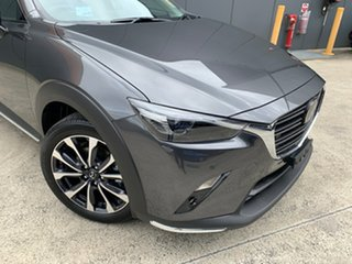 2021 Mazda CX-3 DK4W7A Akari SKYACTIV-Drive i-ACTIV AWD Machine Grey 6 Speed Sports Automatic Wagon.