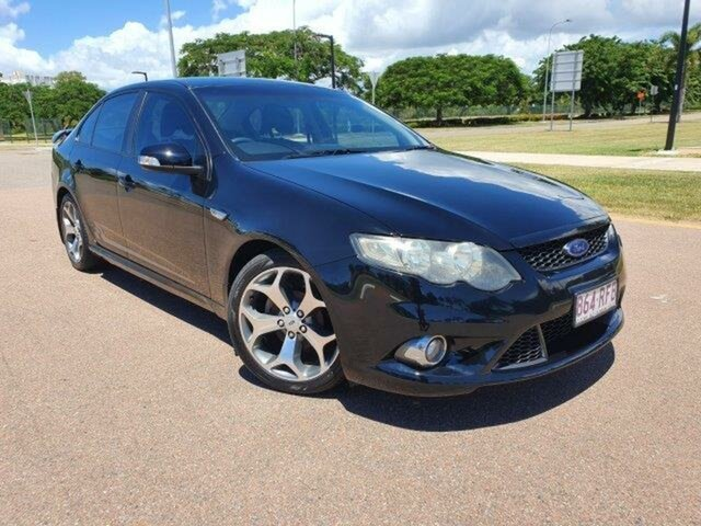 Used Ford Falcon FG XR6 Townsville, 2010 Ford Falcon FG XR6 Black 6 Speed Sports Automatic Sedan
