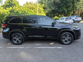 2018 Toyota Kluger GSU55R GX AWD Black 8 Speed Sports Automatic Wagon.