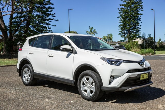Used Toyota RAV4 ASA44R GX AWD Port Macquarie, 2018 Toyota RAV4 ASA44R GX AWD White 6 Speed Sports Automatic Wagon