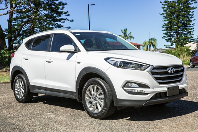 Used Hyundai Tucson TL2 MY18 Active AWD Port Macquarie, 2017 Hyundai Tucson TL2 MY18 Active AWD White 6 Speed Sports Automatic Wagon