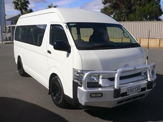 2018 Toyota HiAce KDH223R Commuter High Roof Super LWB White 4 Speed Automatic Bus.