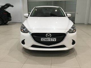 2016 Mazda 2 DL2SAA Neo SKYACTIV-Drive Snowflake White 6 Speed Sports Automatic Sedan