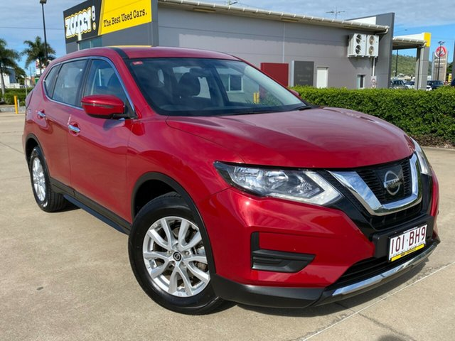 Used Nissan X-Trail T32 Series II ST X-tronic 2WD Townsville, 2019 Nissan X-Trail T32 Series II ST X-tronic 2WD Red/010419 7 Speed Constant Variable Wagon