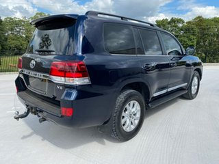 2015 Toyota Landcruiser VDJ200R Sahara Blue 6 Speed Sports Automatic Wagon