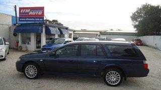 2009 Ford Falcon BF Mk III XT Blue 4 Speed Sports Automatic Wagon.