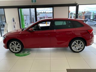 2020 Skoda Scala NW MY21 110TSI DSG Red 7 Speed Sports Automatic Dual Clutch Hatchback