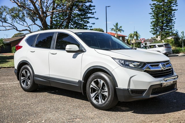 Used Honda CR-V RW MY18 Vi FWD Port Macquarie, 2018 Honda CR-V RW MY18 Vi FWD White 1 Speed Constant Variable Wagon