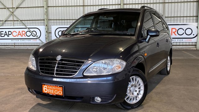 Used Ssangyong Stavic A100 MY14 Rocklea, 2014 Ssangyong Stavic A100 MY14 Grey 5 Speed Sports Automatic Wagon