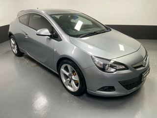 2015 Holden Astra PJ MY15.5 GTC Sport Silver 6 Speed Automatic Hatchback.