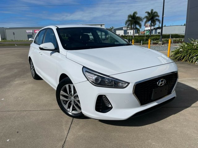 Used Hyundai i30 PD2 MY19 Active Townsville, 2019 Hyundai i30 PD2 MY19 Active White/310519 6 Speed Sports Automatic Hatchback