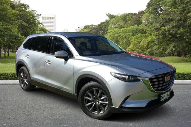 Demo Mazda CX-9 TC Touring SKYACTIV-Drive Paradise, 2021 Mazda CX-9 TC Touring SKYACTIV-Drive Sonic Silver 6 Speed Sports Automatic Wagon