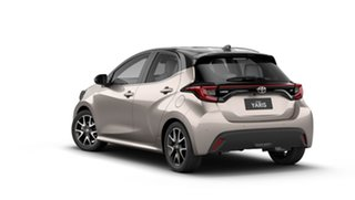 2021 Toyota Yaris Mxpa10R ZR Bronx Bronze - Black Roof 10 Speed Constant Variable Hatchback