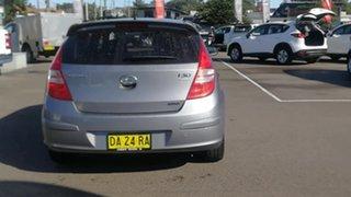 2011 Hyundai i30 FD MY11 Trophy Silver 4 Speed Automatic Hatchback.