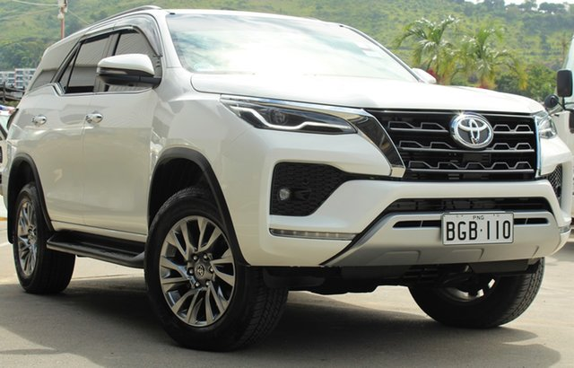 Demo Toyota Fortuner GUN156R , Toyota Fortuner GUN156R SUV White 6 Speed Automatic Sportswagon