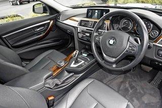 2016 BMW 3 Series F30 LCI 330i Luxury Line Grey 8 Speed Sports Automatic Sedan.