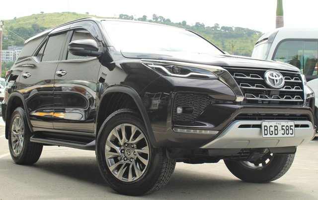 Demo Toyota Fortuner GUN156R , Toyota Fortuner GUN156R SUV Brown 6 Speed Automatic Sportswagon