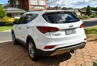 2015 Hyundai Santa Fe DM2 MY15 Highlander Creamy White 6 Speed Sports Automatic Wagon