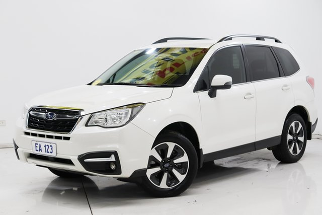 Used Subaru Forester S4 MY17 2.0D-L CVT AWD Brooklyn, 2017 Subaru Forester S4 MY17 2.0D-L CVT AWD White 7 Speed Constant Variable Wagon