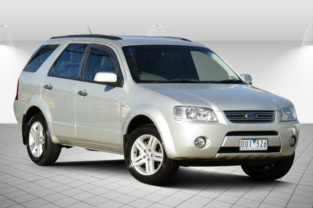 Used Ford Territory SY Ghia AWD Oakleigh South, 2006 Ford Territory SY Ghia AWD Lightning Strike 6 Speed Sports Automatic Wagon