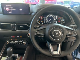 2021 Mazda CX-5 KF4WLA Akera SKYACTIV-Drive i-ACTIV AWD Eternal Blue 6 Speed Sports Automatic Wagon