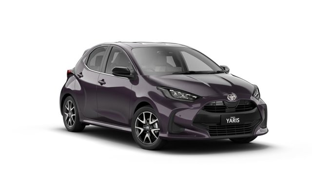 New Toyota Yaris Mxpa10R ZR North Lakes, 2021 Toyota Yaris Mxpa10R ZR Scarlet 10 Speed Constant Variable Hatchback